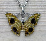 vlinder ketting hanger
