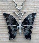 vlinder ketting