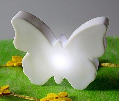 nachtlampje / schemerlampje vlinder