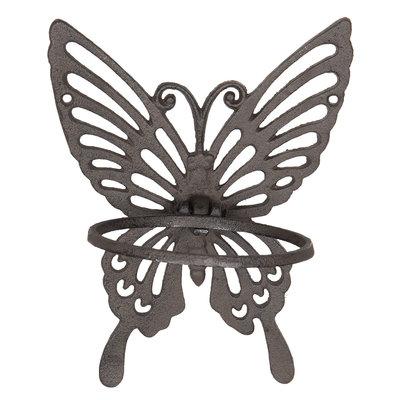 bloempothouder vlinder gietijzer