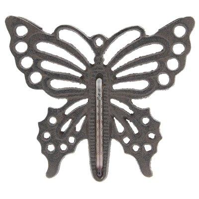 thermometer vlinder gietijzer