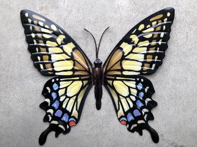 vlinder metaal 35x32cm (met schoonheidsfoutje)