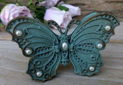 doosje vlinder metaal