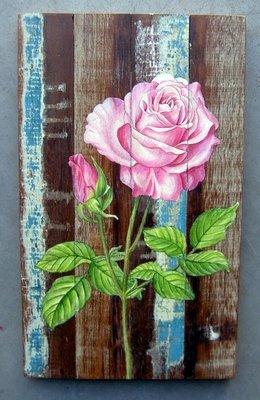 schilderij sloophout bloem sch3-C01