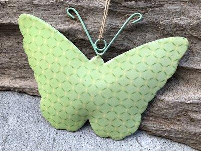 hangdecoratie vlinder metaal