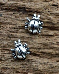 oorknopjes lievebees echt zilver