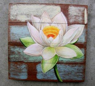 lotus schilderij