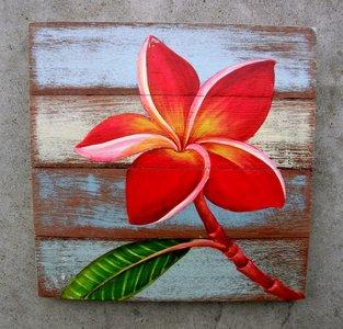 frangipani schilderij