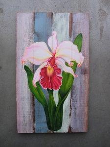 orchidee schilderij