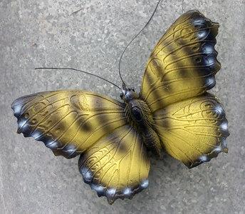 magneet vlinder geel