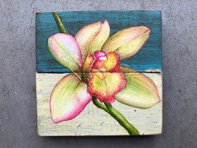 orchidee schildering