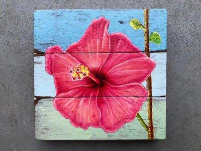 chinese roos schilderij