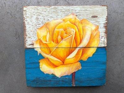 roos schilderijtje