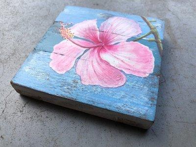 hibiscus schilderijtje