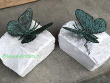 vlinder voor op het graf
