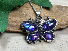 paars vlinder hanger