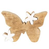 vlinder hout decoratie