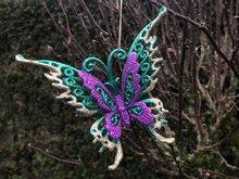 hangdecoratie vlinder