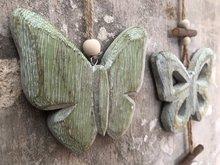 houten vlindertjes