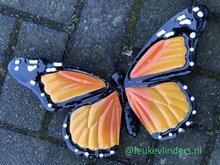 oranje vlinder om op te hangen