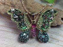 groene vlinder hanger