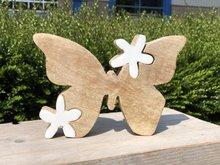 houten vlinder decoratie