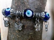 elastische vlinder armband