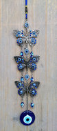 hanger vlinder blauwe boze oog