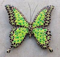 vlinder groen magneet