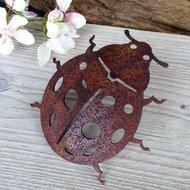metalen lieveheersbeestje decoratie