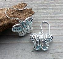 oorbellen vlinder