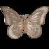 brocante vlinder muurdecoratie